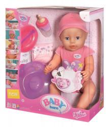 Zapf Creation Baby Born Bebe fetita interactiva cu accesorii (819197)