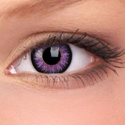 Maxvue Vision Glamour - Violet - dioptriás, negyedéves (2 db)