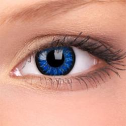 Maxvue Vision Glamour - Blue - dioptriás, negyedéves (2 db)