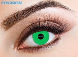 Eyecasions UV Green crazy - egyhavi (2 db)