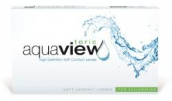 INTEROJO AquaView Toric for Astigmatism (6 db)