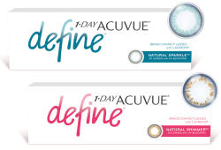 Johnson & Johnson Acuvue 1-DAY Define (30 db) - napi