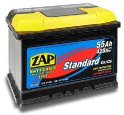 ZAP Plus 55Ah 460A Jobb+