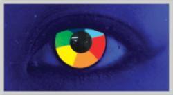 MesmerEyez Crazy Rainbow UV (2 db) - éves