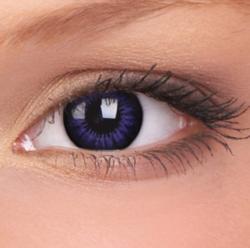 Maxvue Vision ColorVue Big Eyes - Ultra Violet dioptriás (2 db) - 3 havi
