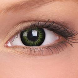 Maxvue Vision ColorVue Big Eyes - Party Green dioptriás (2 db) - 3 havi