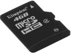 Kingston MicroSDHC 4GB Class 4 SDC4/4GBSP