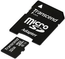 Transcend MicroSDHC 32GB Class 4 TS32GUSDC4