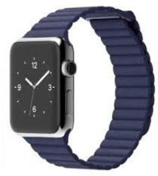 Apple Watch 42mm Steel Leather Loop