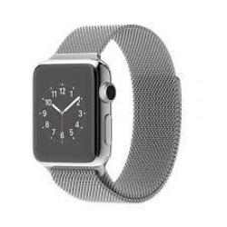 Apple Watch 42mm Stainless Steel Case Milanese Loop