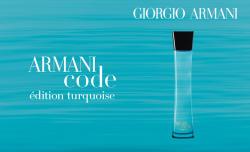 Giorgio Armani Armani Code Turquoise pour Homme EDT 75ml Tester
