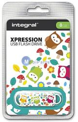 Integral Xpression Owls 8GB INFD8GBXPROWLS
