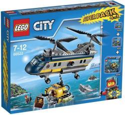 LEGO City - Mélytengeri felfedezők Super Pack 4in1 (66522)