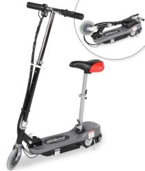 Elektro-Scooter -elektromos roller ezüst