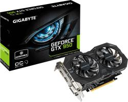 GIGABYTE GeForce GTX 950 WINDFORCE 2X OC 2GB GDDR5 128bit PCIe (GV-N950WF2OC-2GD)