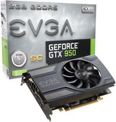 EVGA GeForce GTX 950 Superclocked 2GB GDDR5 128bit PCIe (02G-P4-2951-KR)