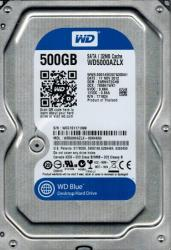 "Western Digital 3.5"" 500GB 32MB 7200rpm SATA3 WD5000AZLX"