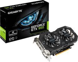 GIGABYTE GeForce GTX 950 WINDFORCE 2X OC 2GB GDDR5 128bit PCIe (GV-N950WF2OC-2GD)