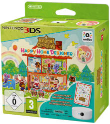 Nintendo Animal Crossing Happy Home Designer [NFC Bundle] (3DS)