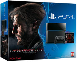 Sony PlayStation 4 500GB (PS4 500GB) + Metal Gear Solid 5: The Phantom Pain