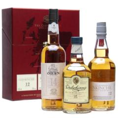 Classic Malts Whiskey Collection Red 3x0,2L 43%