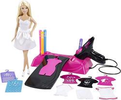 Mattel Barbie festékszóró stúdió (CMM85)
