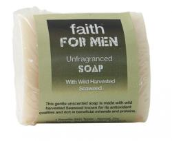 Faith in Nature Faith for men illatmentes szappan (100 g)