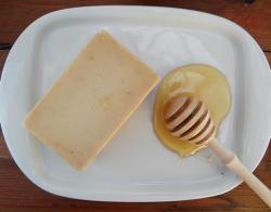 Kézműves háziszappan Natúr méz szappan (80 g)