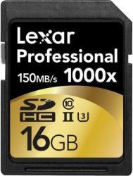 Lexar SDHC 16GB Class 10 UHS-II 1000x LSD16GCRBEU1000