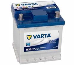 VARTA B36 Blue Dynamic 44Ah EN 420A Jobb+ (544 401 042)