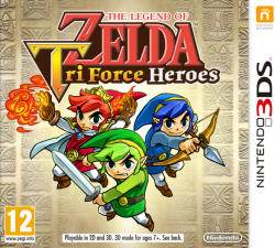 Nintendo The Legend of Zelda Tri Force Heroes (3DS)