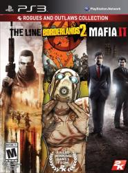 2K Games 2K Rogues & Outlaws Collection: Spec Ops The Line + Borderlands 2 + Mafia II (PS3)