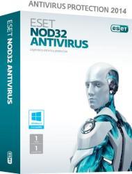 ESET NOD32 Antivirus (4 PC, 3 Year)