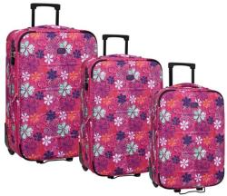 ROLL ROAD Floral Set 52/66/76 Valiza