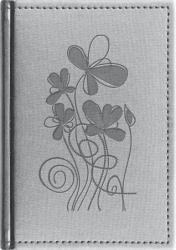 Absolut Naptár Silk zsebnaptár, álló elrendezésű, ezüst (NAZSASE)