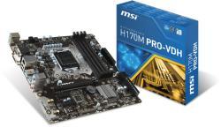 MSI H170M PRO-VDH