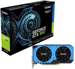 Palit GeForce GTX 950 StormX Dual OC 2GB GDDR5 128bit PCIe (NE5X950S1041-2063F)