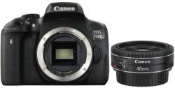 Canon EOS 760D + 40mm