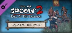 SEGA Total War Shogun 2 Fall of the Samurai Saga Faction Pack DLC (PC)