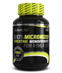 BioTechUSA 100% Micronized Creatine Monohydrate (100g)