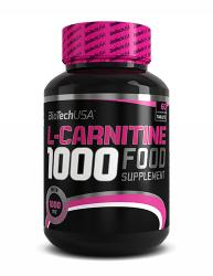 BioTechUSA L-Carnitine 1000mg - 60 caps