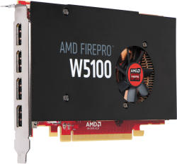 HP FirePro W5100 4GB GDDR5 PCIe (J3G92AA)