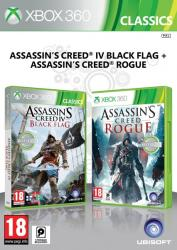 Ubisoft Double Pack: Assassin's Creed IV Black Flag + Assassin's Creed Rogue [Classics] (Xbox 360)