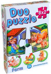 Dohány Duo Puzzle - Farm állatok