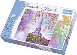 Trefl Romantic Puzzle - Párizs 1000 db-os (10409)
