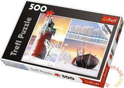 Trefl Hideg 500 db-os (37242)