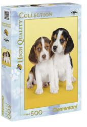 Clementoni Beagle kölykök 500 db-os (30356)