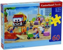Castorland Vicces építkezés 60 db-os (B-06809)