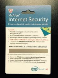 McAfee Internet Security (1 Year) BKCMIS1YRHUN