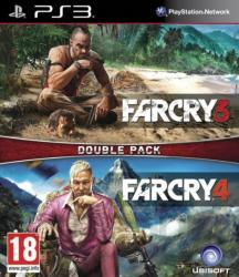 Ubisoft Double Pack: Far Cry 3 + Far Cry 4 (PS3)